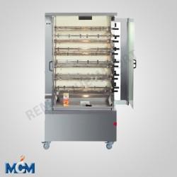 Rôtissoire verticales double broche 6 EGD MCM