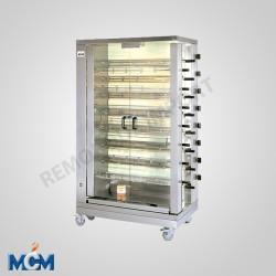 Rôtissoire verticale double broche 8 EGD MCM