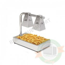 Chauffe Frites 2 lampes