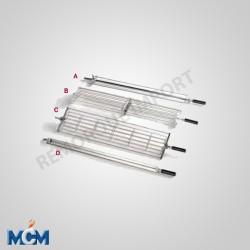 Broche panier pour poulet ouvert MCM 060125