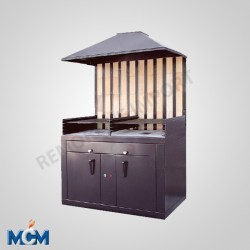 Barbecue double corps MCM B2/P