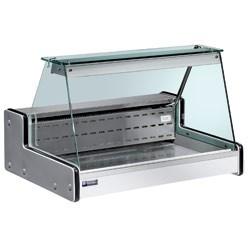 Table vitrine réfrigérée 160 litres Argent