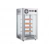 Vitrine chauffante - 108 litre - acier inoxydable