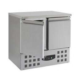 Table réfrigérée 90 cm x 70 cm - 2 portes