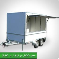 Remorque Eco 1500Kg
