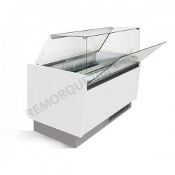 Comptoir à glace 156 x 92 cm Bllanc