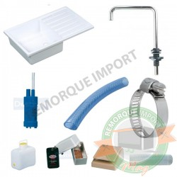 KIT LAVE MAIN RECTANGULAIRE COMPLET