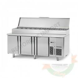 Table réfrigérée de préparation - 3 portes