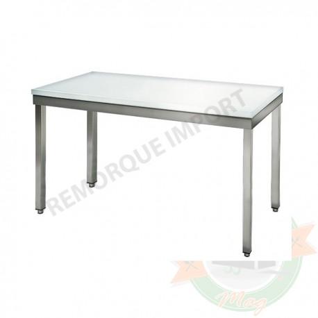 Table de boucherie 120 cm